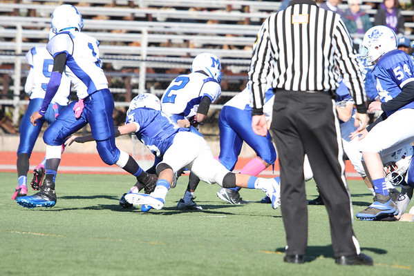 2013 SHP Frosh FB v Montclair